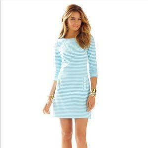 Lilly Pulitzer Stripe Charlena Shift Dress Size L